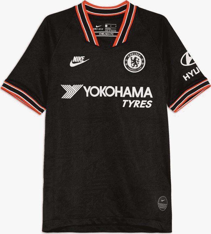 Nike Czarna koszulka Nike Chelsea FC Breathe Stadium AT2631-011 JR 152 1