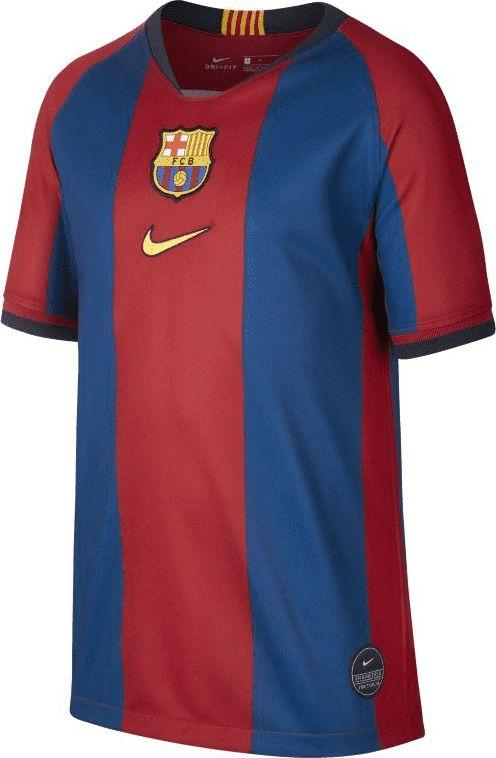 Nike Koszulka piłkarska Nike FC Barcelona Stadium '98/99 JR AQ5104-431 bordowo-granatowa 128 1