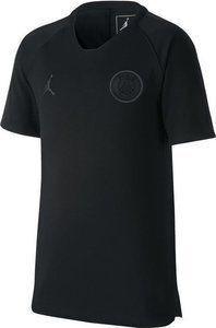 Nike Koszulka piłkarska Nike Jordan Paris Saint-Germain Breathe Squad junior AQ0970-012 czarna 122 1