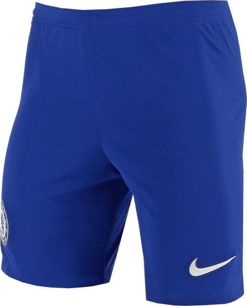Nike Niebieskie spodenki piłkarskie Nike FC Chelsea Breathe Stadium AO1941-494 Junior 140 1
