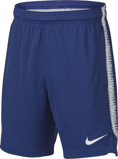 Nike Granatowe spodenki piłkarskie Nike Dry Squad FC Chelsea 920348-495 Junior 140 1