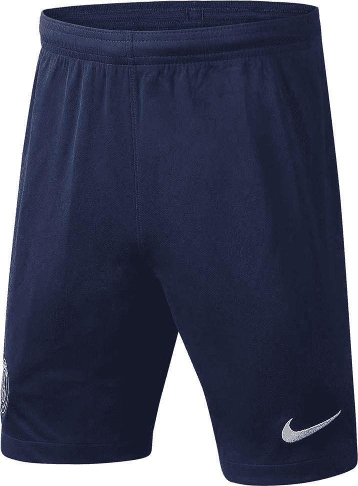 Nike Granatowe spodenki piłkarskie Nike Paris Saint Germain Breathe Stadium BV4146-410 Junior 164 1