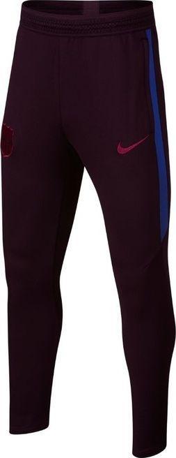 Nike Brązowe spodnie dresowe treningowe Nike Dry Strike Barcelona AO6357-659 Junior 140 1