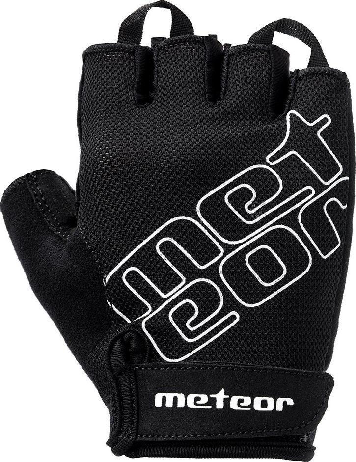 Meteor RĘKAWICZKI ROWEROWE METEOR GL GEL 35 BLACK XL 1