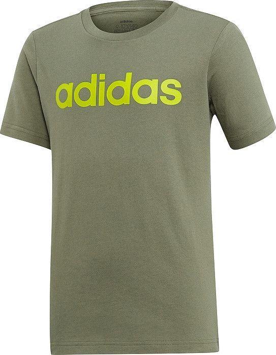 Adidas adidas JR Essentials Linear t-shirt 042 : Rozmiar - 140 cm (FM7042) - 23739_201365 1