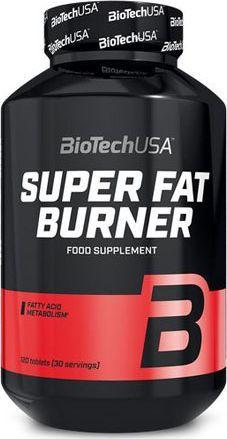 Bio Tech Maisto papildas Super Fat Burner 120 tab. 1