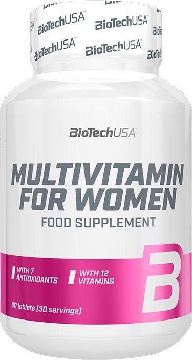 Bio Tech Maisto papildas Biotech Multivitamin For Women 60 tab. 1