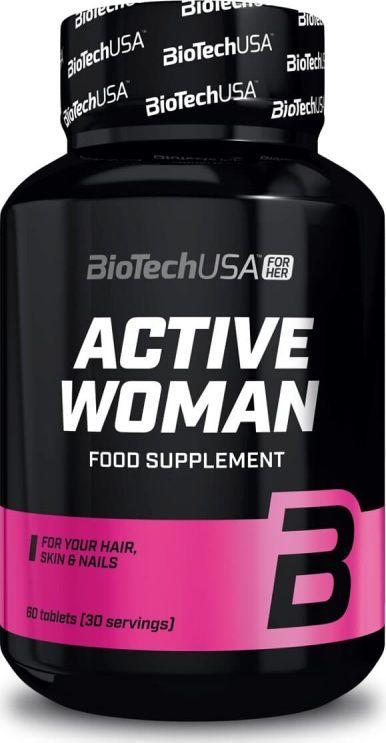 Bio Tech Maisto papildas Biotech For Her Active Women 60 tab. 1