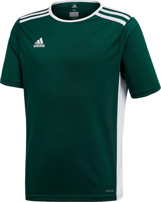 Adidas adidas JR Entrada 18 t-shirt 563 : Rozmiar - 164 cm (CE9563) - 21733_188846 1