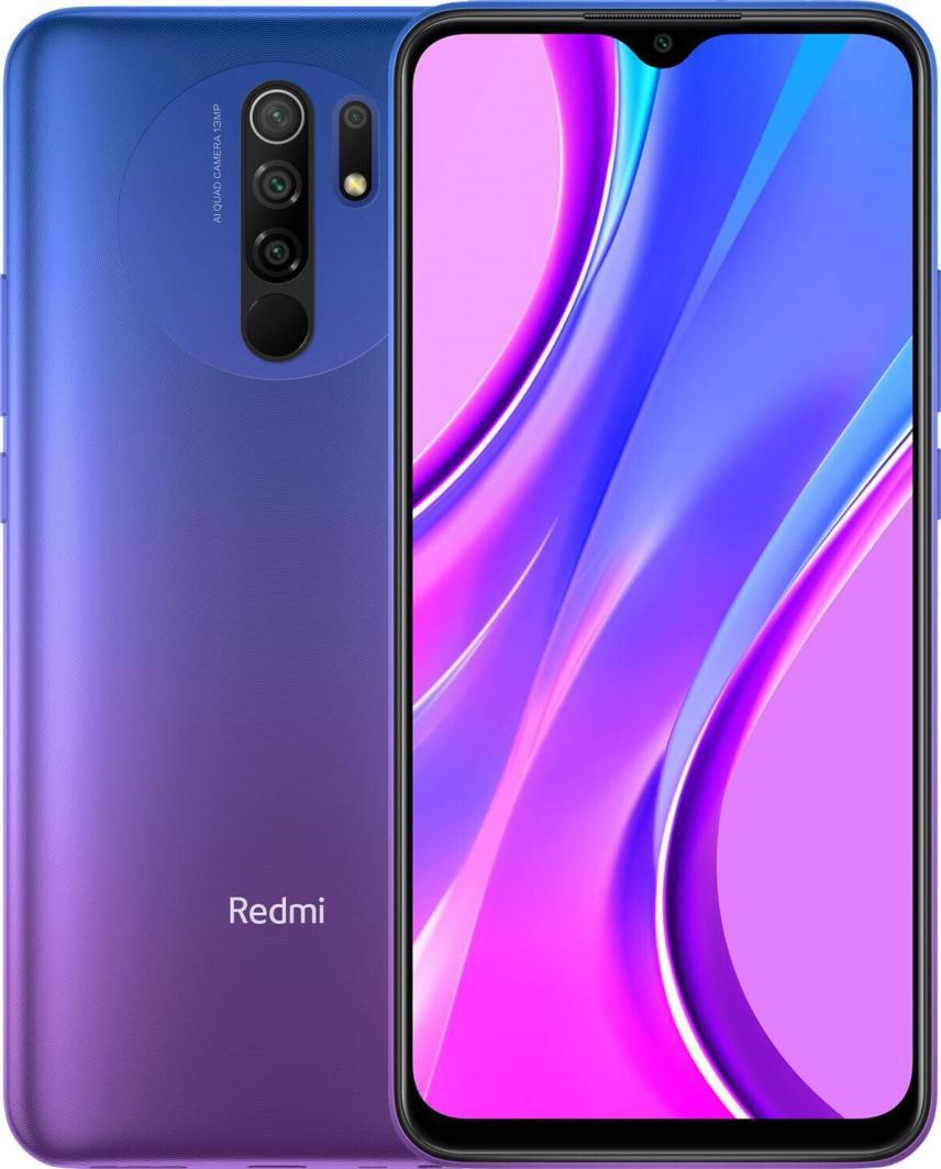 Smartfon Xiaomi Redmi 9 32 GB Dual SIM Fioletowy (28427) 1