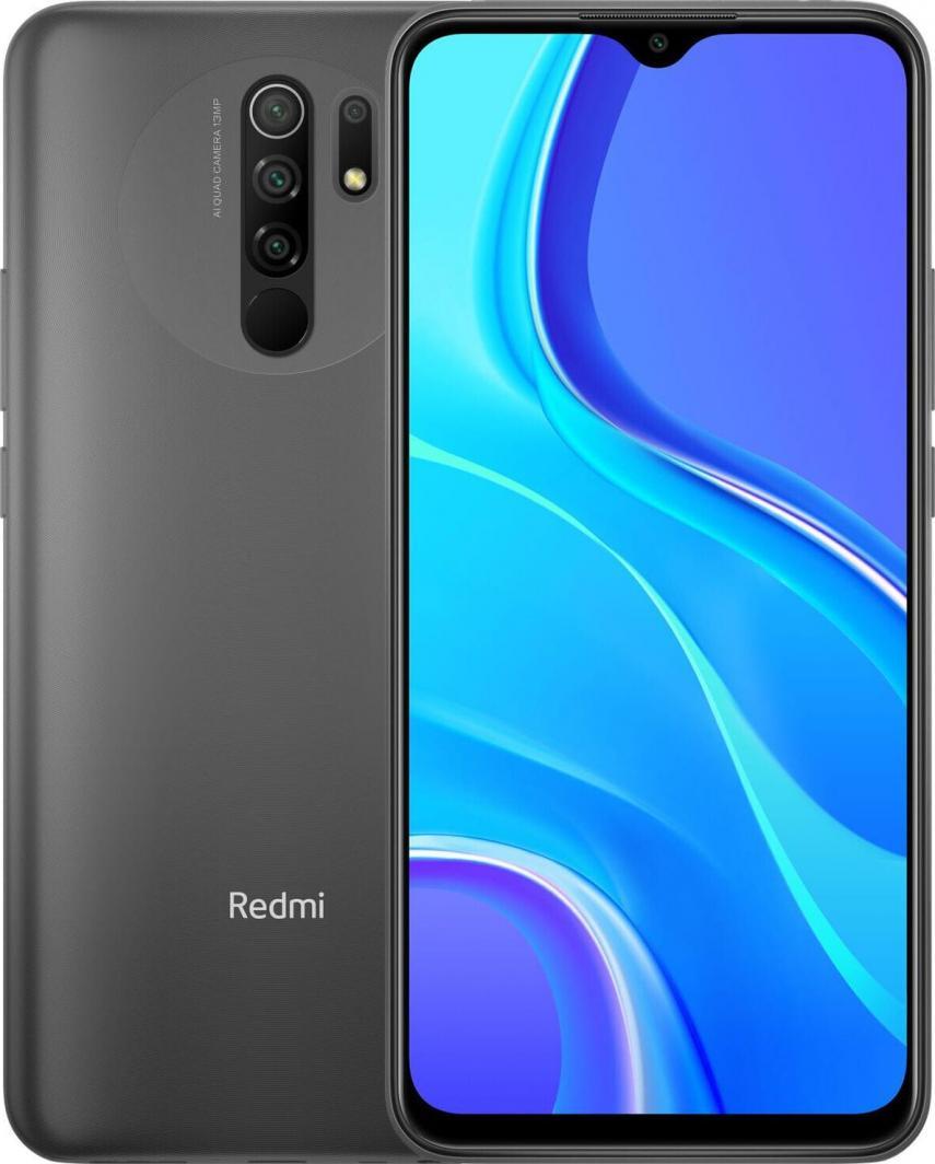 Smartfon Xiaomi Redmi 9 4/64GB Dual SIM Szary (28428) 1