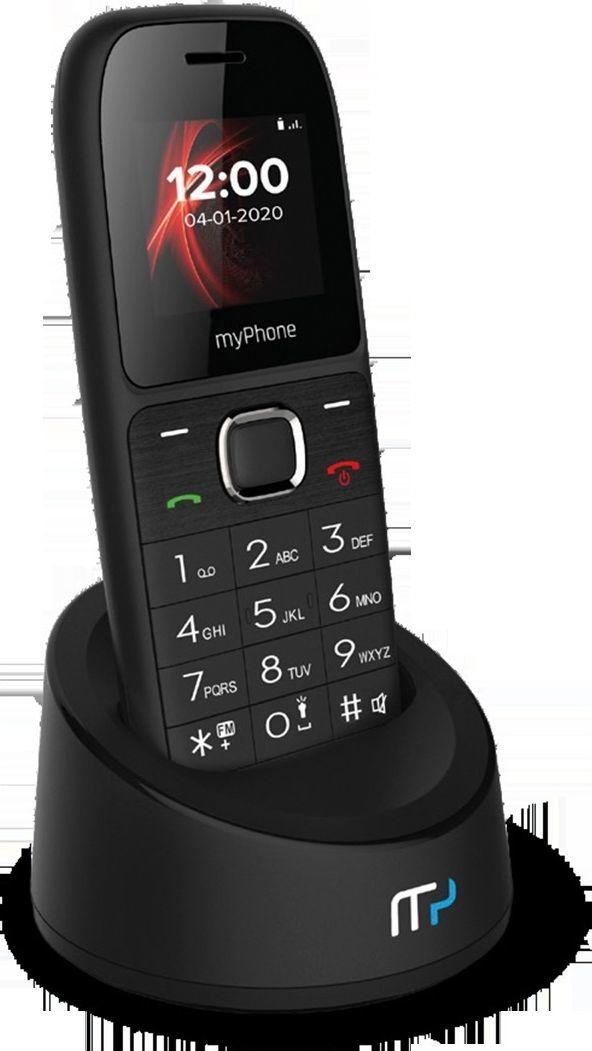 Telefon bezprzewodowy myPhone myPhone telefon stacjonarny z kartą SIM SOHO Line H31 1