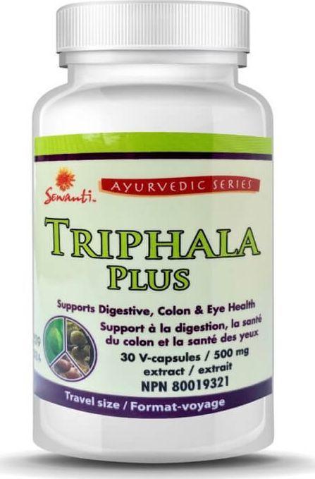 Sewanti Triphala Plus Sewanti 30 kapsułek 500 mg VEGAN 1
