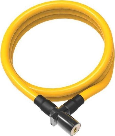 ONGUARD Zapięcie rowerowe ONGUARD 8192YL Linka - 8mm 150cm - 2 x Klucze żółte BAGAZOWNIA uniwersalny 1