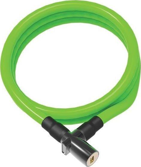 ONGUARD Zapięcie rowerowe ONGUARD 8192GR Linka - 8mm 150cm - 2 x Klucze zielone BAGAZOWNIA uniwersalny 1
