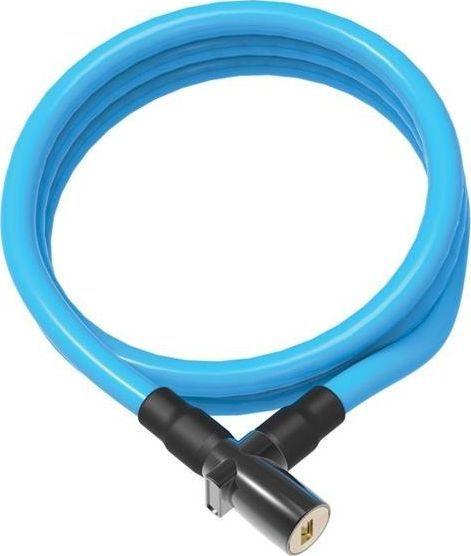 ONGUARD Zapięcie rowerowe ONGUARD 8192BU Linka - 8mm 150cm - 2 x Klucze niebieskie BAGAZOWNIA uniwersalny 1