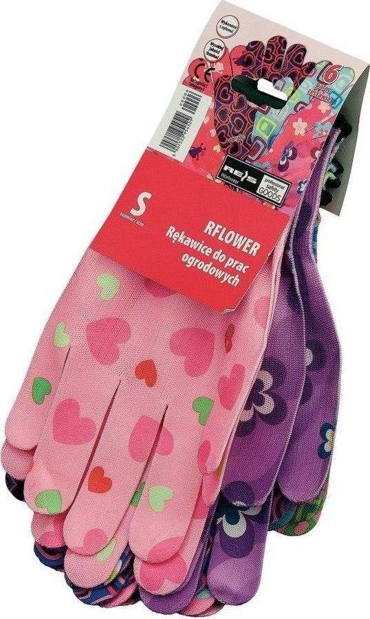 Upominkarnia Rękawice robocze-ozdobne (RFLOWER_S) /6/ UPOMINKARNIA uniwersalny 1