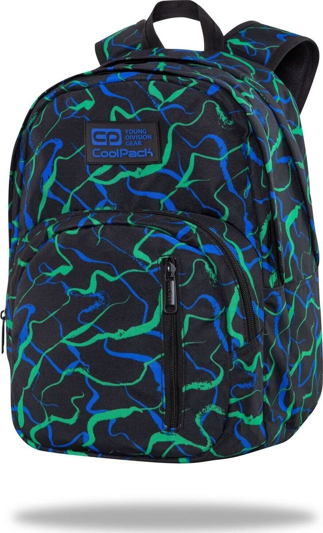 Coolpack Plecak szkolny Discovery 27L Infragreen (C38250) 1