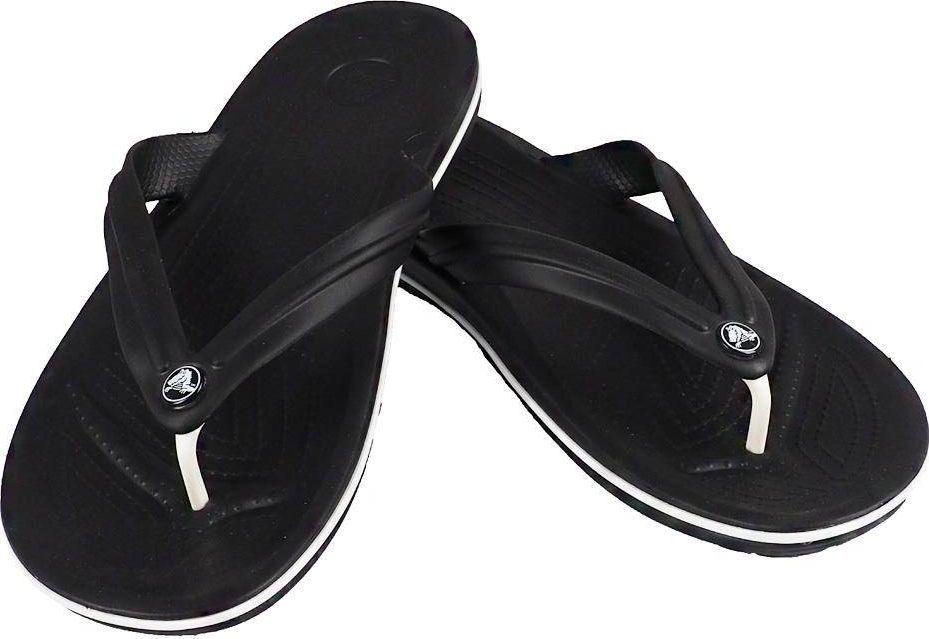 Crocs Crocs klapki Crocband Flip czarne 11033 001 39-40 1