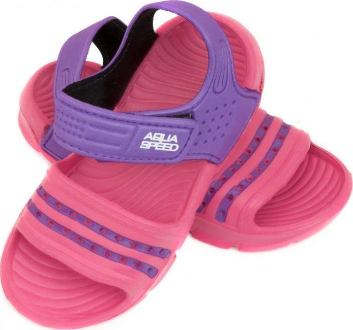 Aqua-Speed Klapki basenowe Noli Różowe r. 29 1