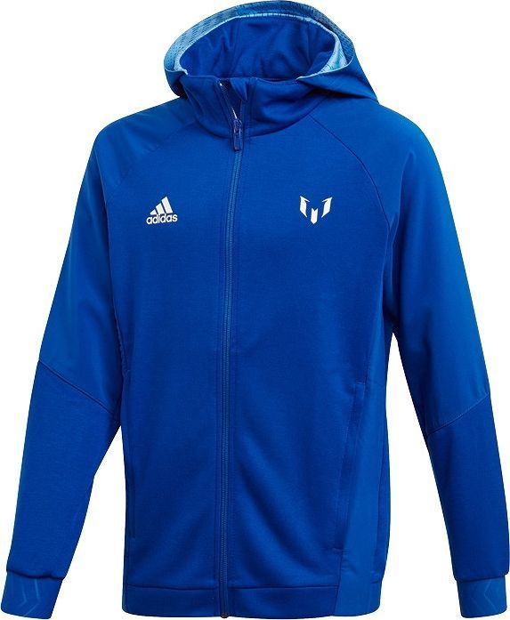 Adidas adidas JR Messi Full-Zip bluza 721 : Rozmiar - 164 cm 1