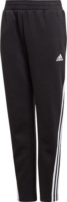 Adidas adidas JR 3-Stripes Tapered spodnie 668 : Rozmiar - 140 cm 1