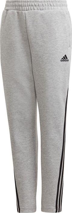 Adidas adidas JR 3-Stripes Tapered spodnie 667 : Rozmiar - 152 cm 1