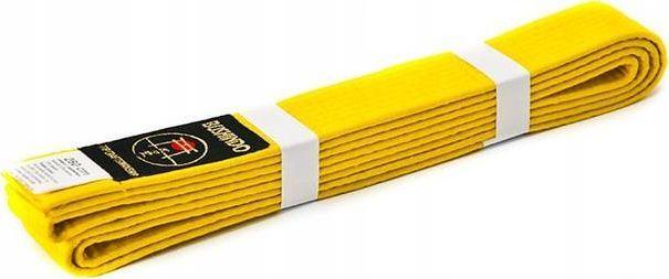 Bushido PAS DO KIMON BUSHINDO 300cm żółty 1