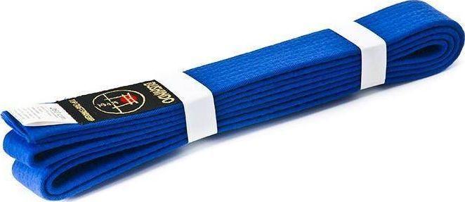 Bushido PAS DO KIMON BUSHINDO 220cm niebieski 1