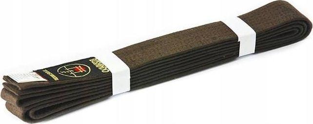 Bushido PAS DO KIMON BUSHINDO 240cm brązowy 1
