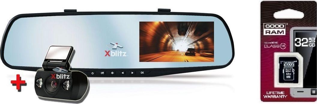 Wideorejestrator Xblitz Park View + karta microSD 32GB 1