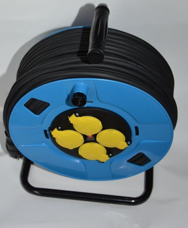 Hilark przedłużacz gumowy OW H05RR-F 3x1,5 50m, bębnowy (918301099a/50/M) 1
