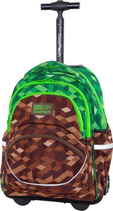 Patio Plecak szkolny Starr City Jungle brązowy (C35199) 1