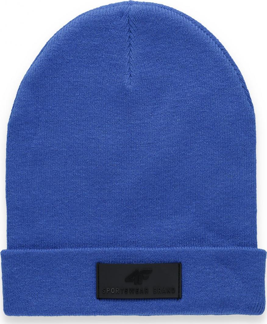 4f Czapka zimowa H4Z20-CAM013 niebieska r. L 1