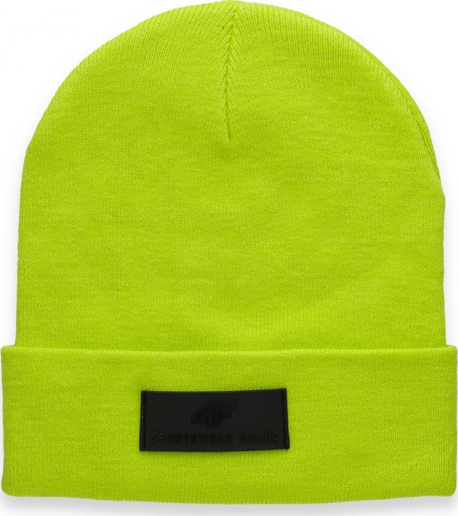 4f Czapka zimowa H4Z20-CAM013 zielona r. L 1