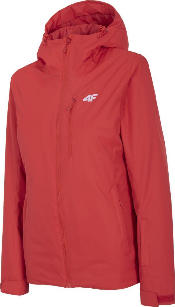 4f Kurtka narciarska damska H4Z20-KUDN001 czerwona r. L 1