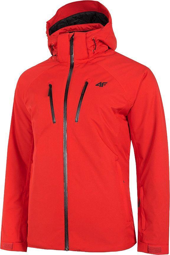 4f Kurtka narciarska męska H4Z20-KUMN005 czerwona r. XL 1