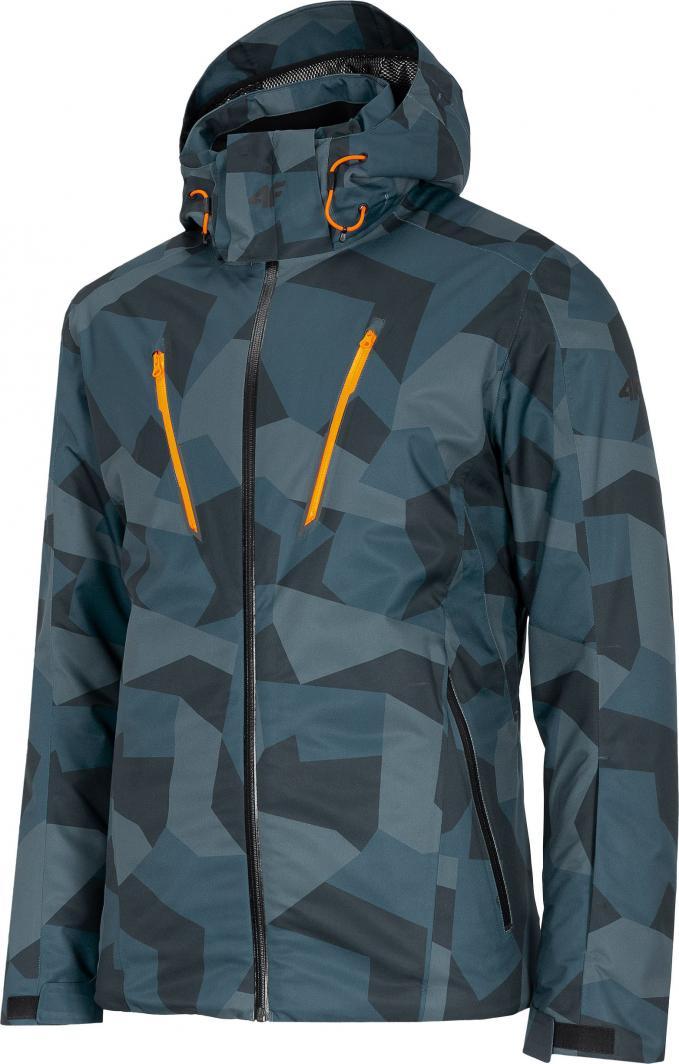 4f Kurtka narciarska męska H4Z20-KUMN007 niebieska r. S 1