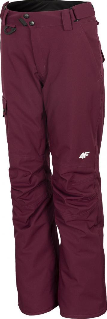 4f Spodnie damskie H4Z20-SPDS001 burgundowe r. L 1