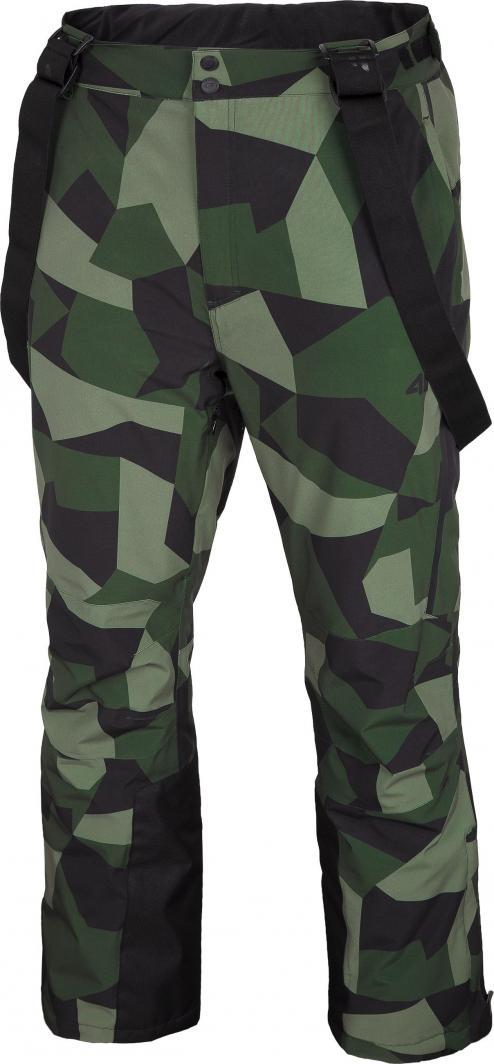4f Spodnie męskie H4Z20-SPMN004 zielone r. L 1