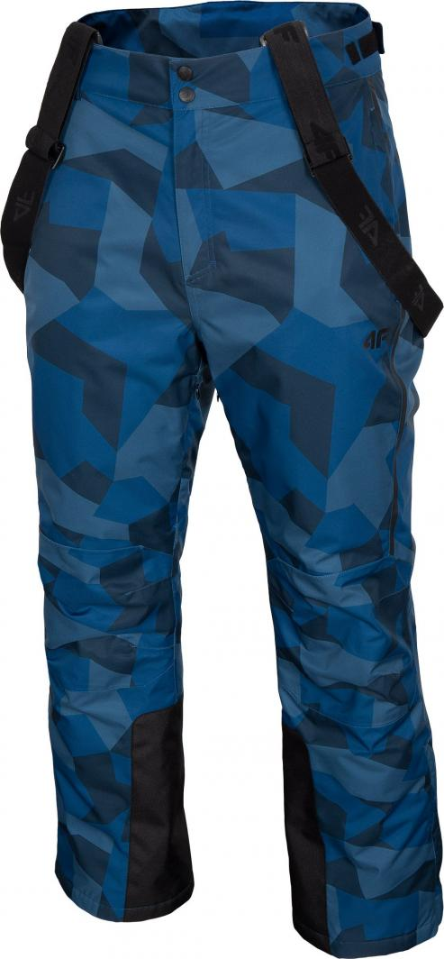 4f Spodnie męskie H4Z20-SPMN004 niebieskie r. L 1
