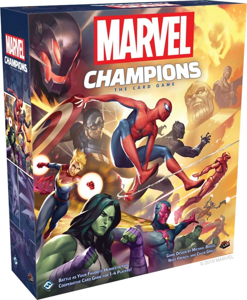 Fantasy Flight Games Marvel Champions: The Card Game 1