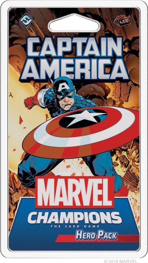 Fantasy Flight Games Marvel Champions: Captain America Hero Pack 1