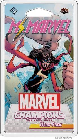 Fantasy Flight Games Marvel Champions: Ms. Marvel Hero Pack 1