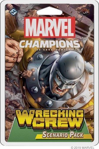 Fantasy Flight Games Marvel Champions: The Wrecking Crew Scenario Pack 1