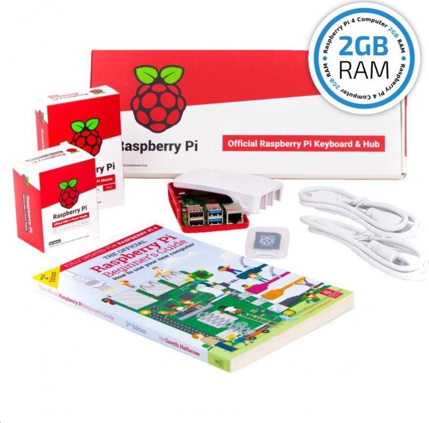 Raspberry Pi 4 Model B 2GB RAM Desktop Kit (OFI069) 1
