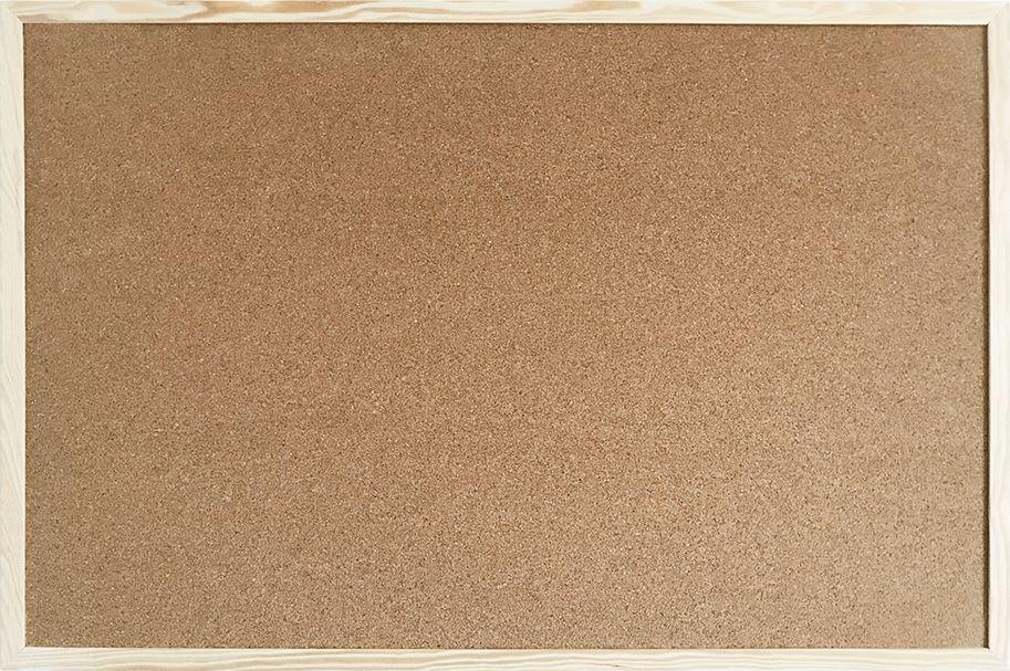 Cetus-Bis Tablica korkowa 40x80 drewno PINEZKI GRATIS !!! 1