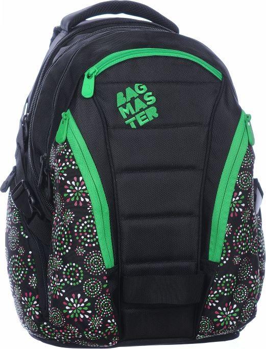 BAGMASTER Plecak Młodzieżowy trzykomorowy laptop 0215 D 1