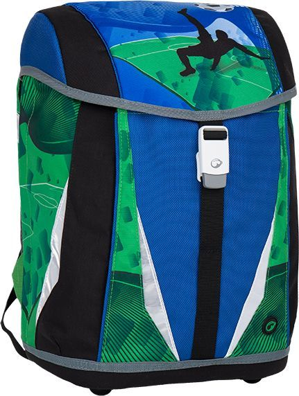 BAGMASTER Plecak szkolny Polo 7 B Blue/green/black 1