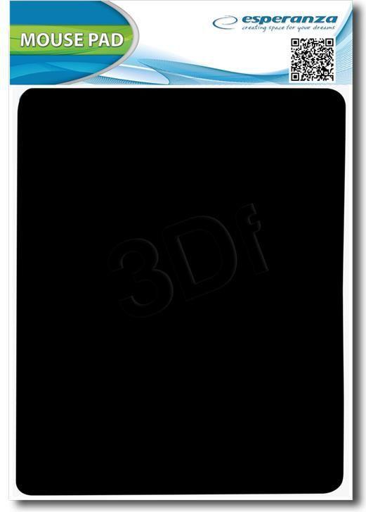 Podkładka Esperanza Materiałowa Czarna (EA145K) 1